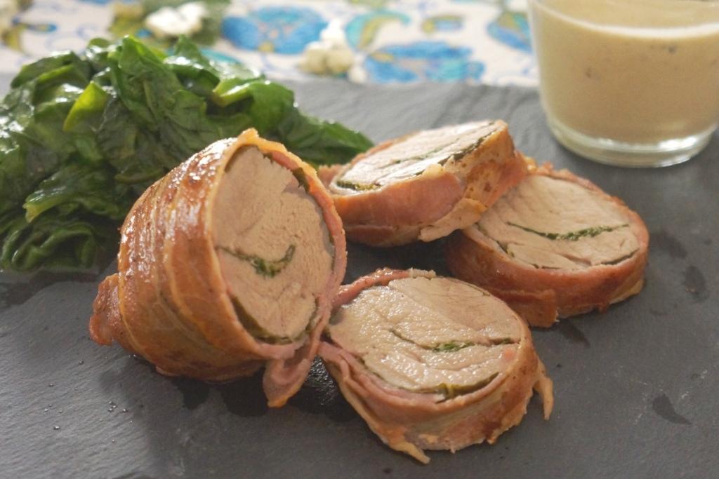 filet mignon sauce au bleu toque et tablier
