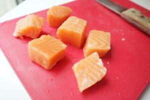 linguine saumon asperges toque et tablier ateliers cuisine enfants