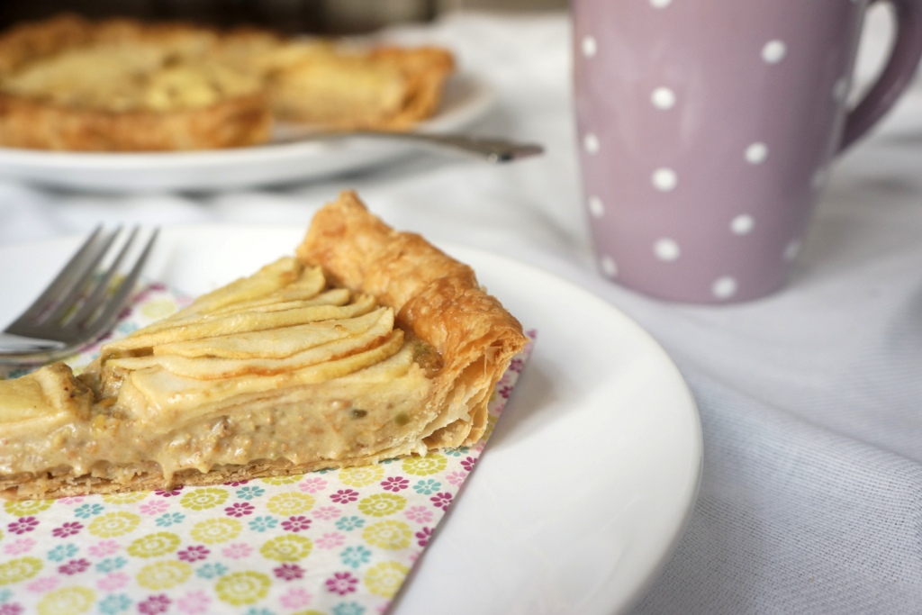 tarte pommes pistache toque&tablier