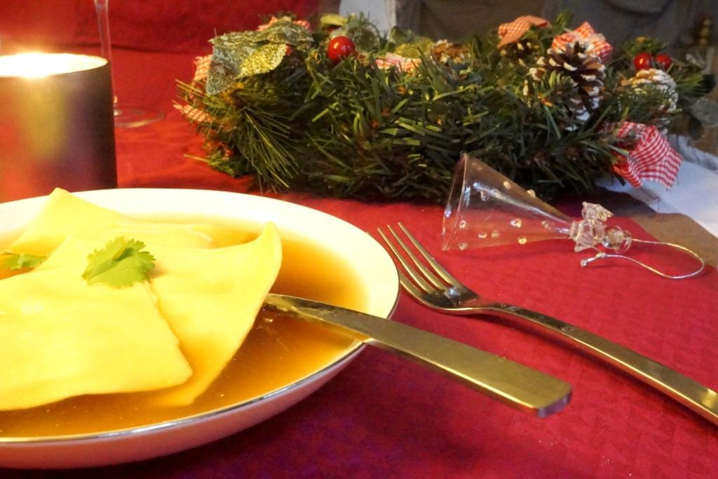 recette raviole foie gras toque & tablier