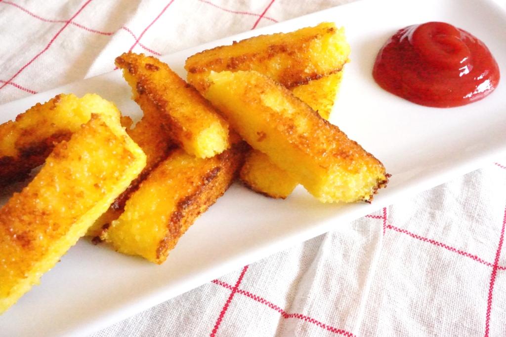 frites polenta toque et tablier