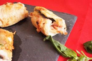 dinde en saltimbocca mozzarella toque et tablier