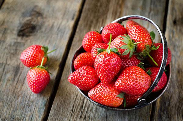 fraise toque et tablier