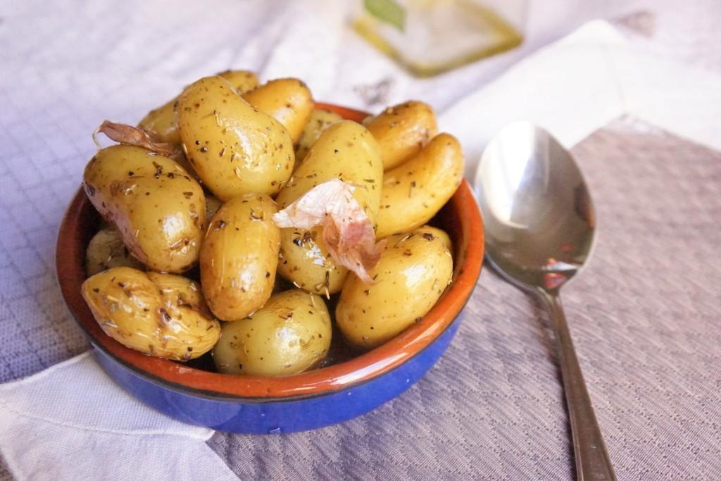 pommes de terre primeur à la provençale toque et tablier