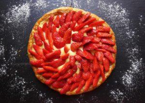 tarte feuillletée fraises toque et tablier (2)