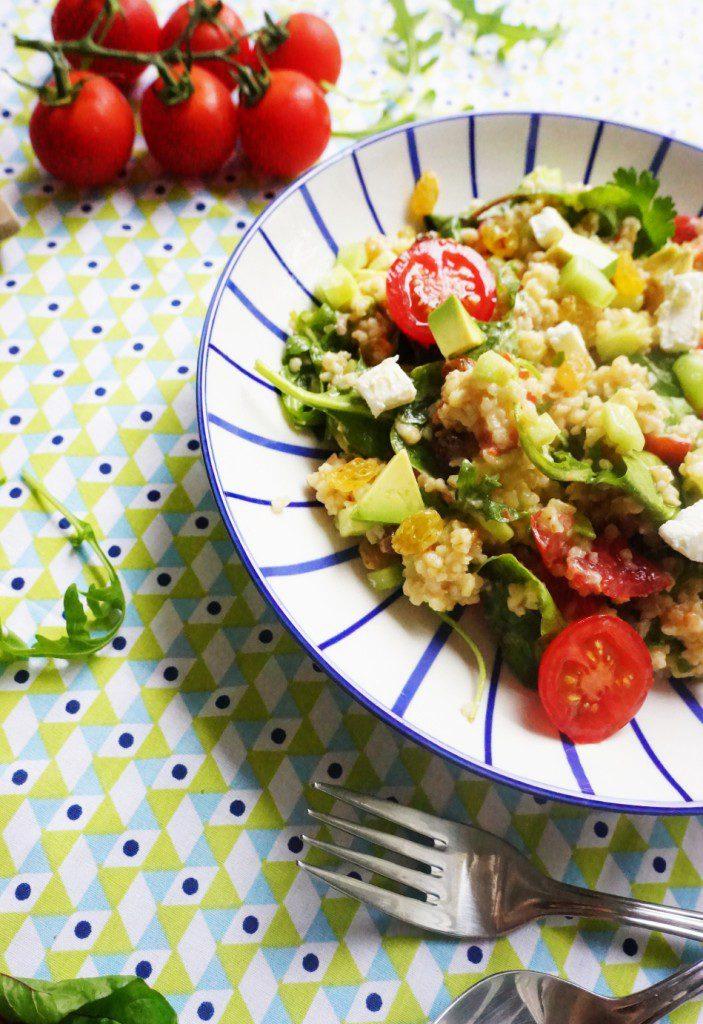 salade boulgour toque et tablier