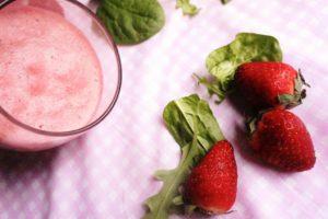 mousse fraise toque et tablier