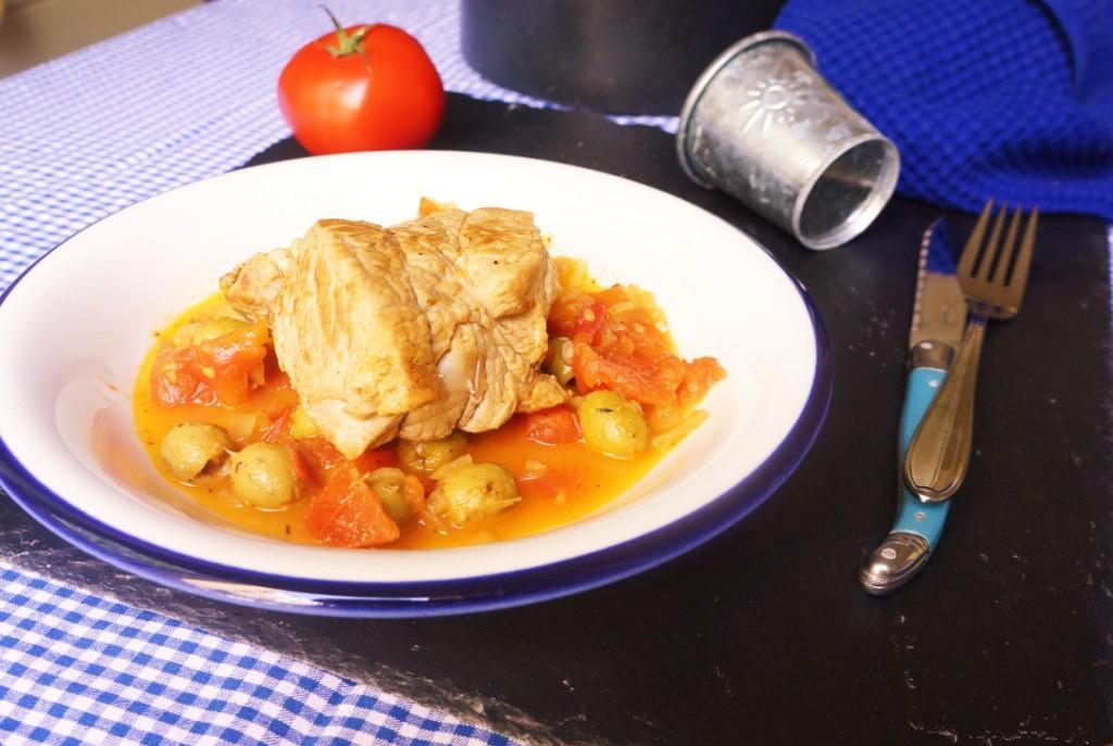 rôti de veau olives toque et tablier