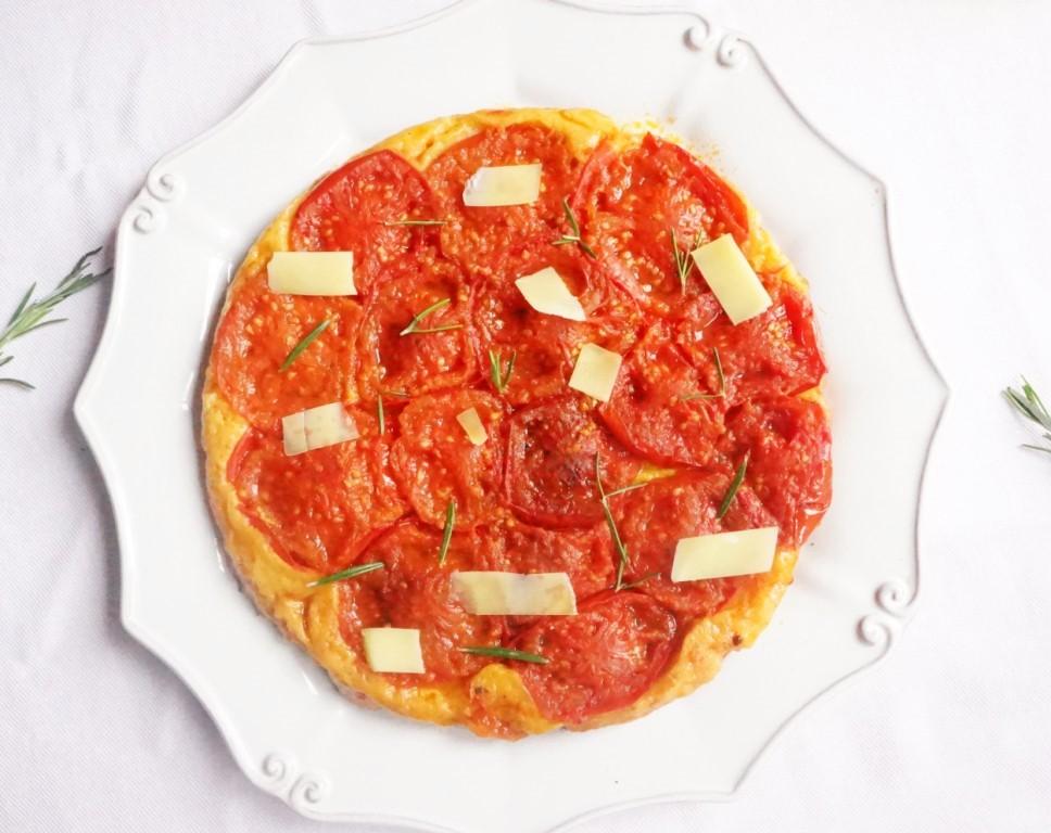 tatin de tomates toque et tablier