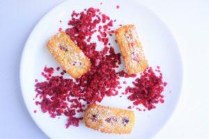 cake aux framboises toque et tablier