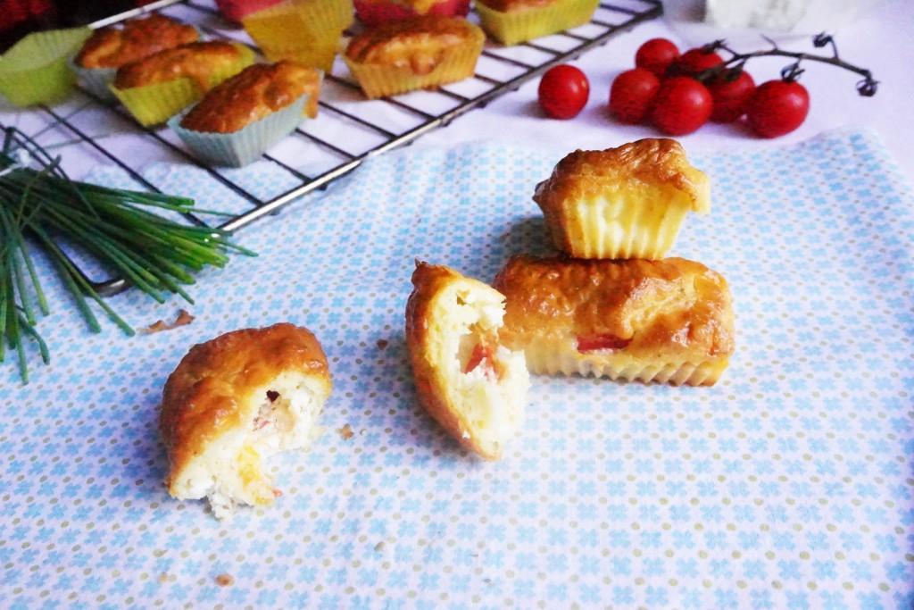 cake tomates chèvre toque et tablier