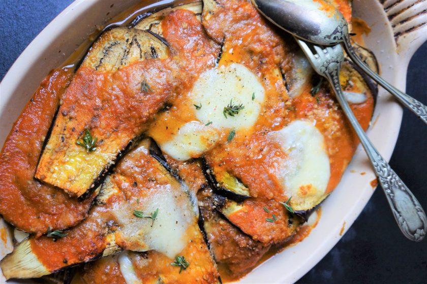 gratin aubergine la tomate toque et tablier